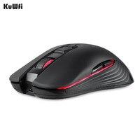 KuWfi Drahtlose Maus Wiederaufladbare Drahtlose Maus Mäuse Stille Gaming Mäuse für Video Spiel Laptop