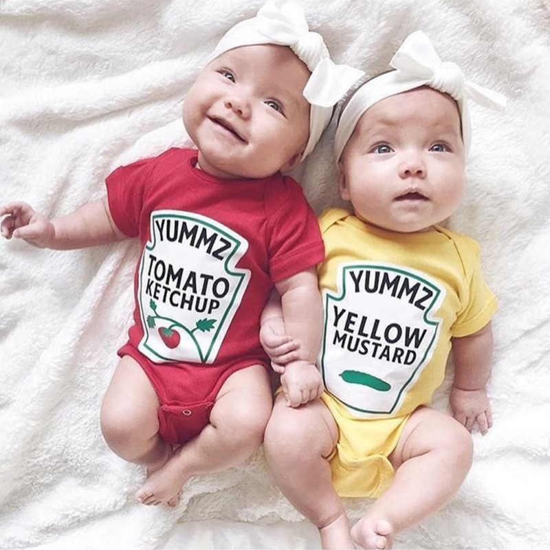 Boys Clothing Newborn 5t Twins Boy Girl Baby Toddler Infant Cute Bodysuit Romper Jumpsuit Clothes Outfits Baby Toddler Clothing Wvpd Org