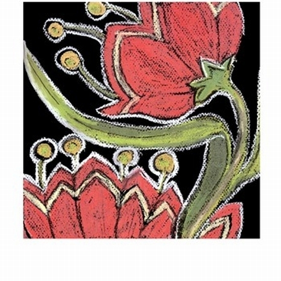 Flower Song IV Poster Print by Lisa Choate (10 x 13)