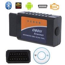 Professional Diagnostic Tool OBD2 OBD II font b ELM327 b font ELM 327 V2 1 Bluetooth