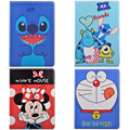 Cute Cartoon Lilo & Stitch Doraemon Minnie Mouse Flip Stand PU Leather Tablet Protective Cover For Ipad Min 1/2/3 Ipad2/3/4+Gift