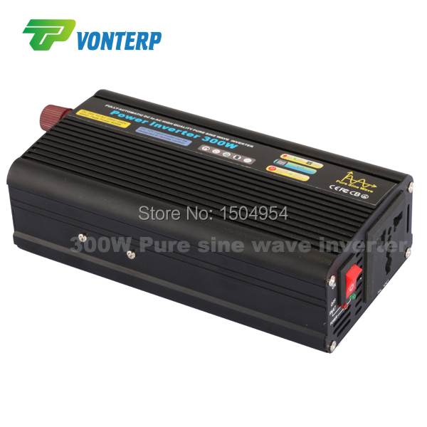 все цены на 300W pure sine wave power inverter dc to ac power inverter 24v 220v 50hz inverter онлайн