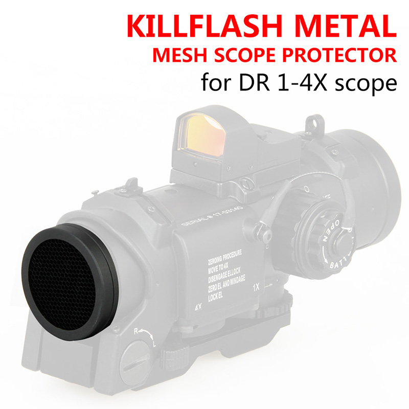 32MM Kill Flash Metal Mesh Scope Protector For DR 1x-4x Scope OS33-0084