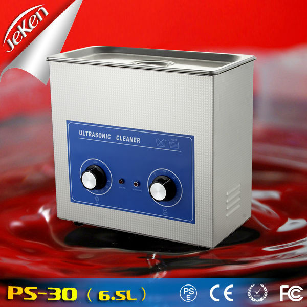 JeKen ultrasonic cleaner 6.5L 180W 110V FedEX/ UPS shipping mechanical buckles bearings dental tools ultrasound cleaner