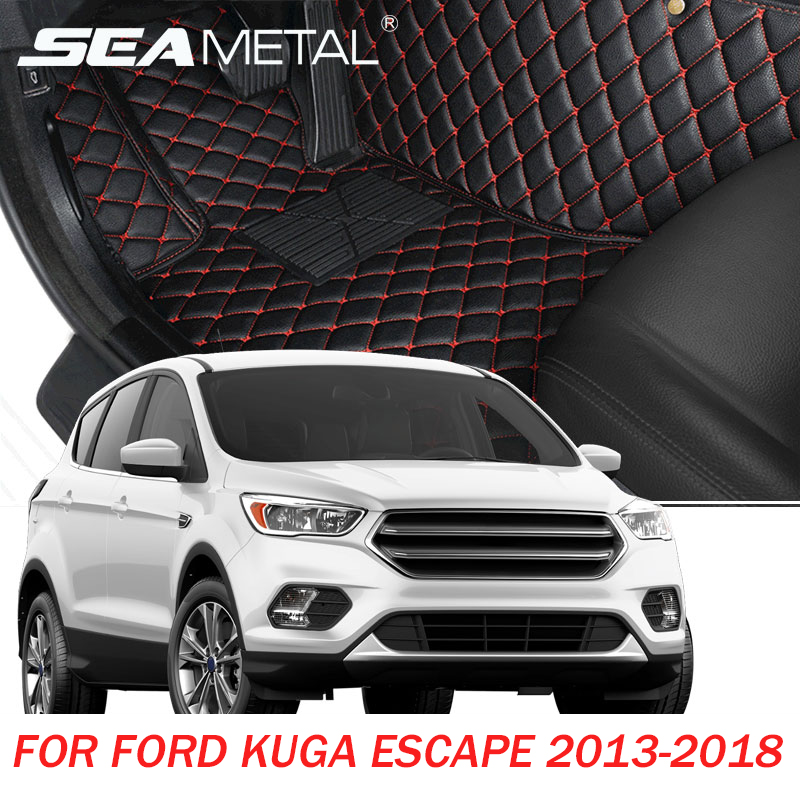 LED For Ford Kuga Ford Escape 2018 2017 2016 2015 2014 2013 Car Floor Mats Custom Made Foot Rugs Pads Auto Interior AccessoriesLED For Ford Kuga Ford Escape 2018 2017 2016 2015 2014 2013 Car Floor Mats Custom Made Foot Rugs Pads Auto Interior Accessories