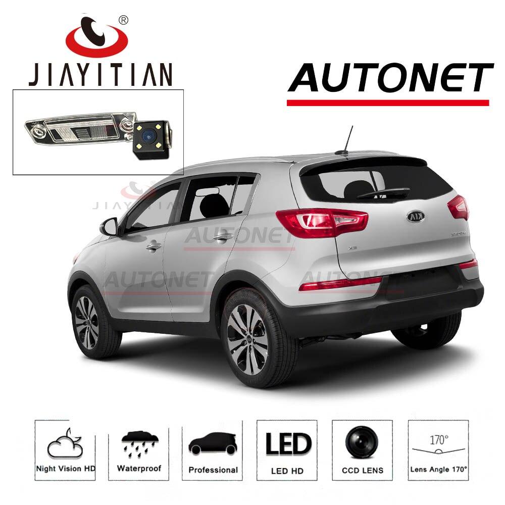 JIAYITIA Rear View Camera For KIA Sportage SL/Sportage R 2010 ~2017 CCD Night Vision license plate camera Parking camera backup цена 2017