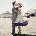 Colorido Cerceau Jupon Mariage vestido de Casamento Nupcial Underskirt Crinolina Casamento Petticoat Acessórios Do Casamento