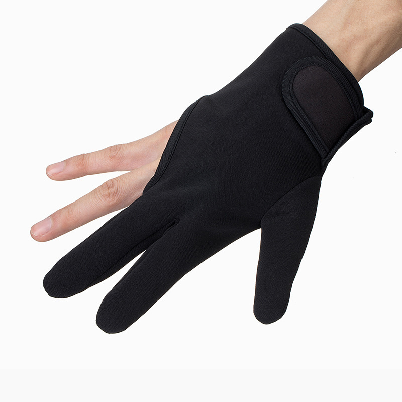 Hairdressing Three fingers anti-hot glove For Flat Iron Heat Resistant Hair Straightening Curling Glove Styling Household Gloves2