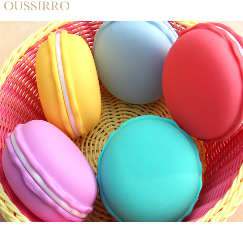 Kleurrijke Sieraden Opbergdoos Fashion Coin Opbergbox Leuke Macaroon - Home opslag en organisatie