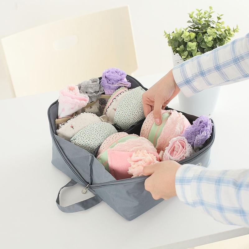 Melltartó zokni fehérnemű tároló táska vízálló nylon - Szervezés és tárolás