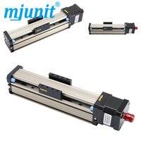 Mjunit Linear precision guide rail slide rail MJ42 screw single line rail slide table module 42 motor working table 100mm stroke