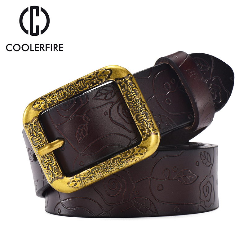 leather New Wide belt