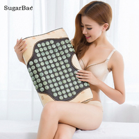 Natural Jade Pillow Infrared Health Care Pillow Health Care Pillow Body Neck Massager Tourmaline Physical Therapy Cushion