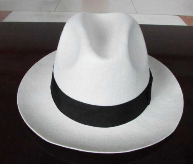 4e08d785 Pure wool felt hat Stylish wool large brim formal bailey borsalino  godfather fedora hats for mens