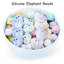 Chenkai 50 шт Силиконовые Прорезыватели для зубов с изображением