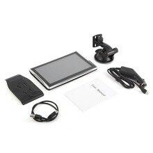 X7 7″ Car Truck GPS Navigation 256M+8GB Reversing Camera Touch Sensor FM Navigator Accurately Position Black