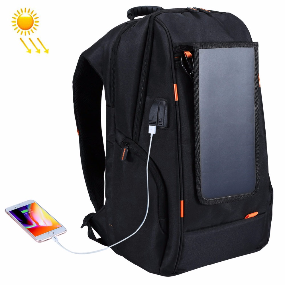 Haweel Открытый Многофункциональный Панели солнечные Мощность удобные дышащие Повседневное рюкзак сумка для ноутбука внешний зарядка через ...