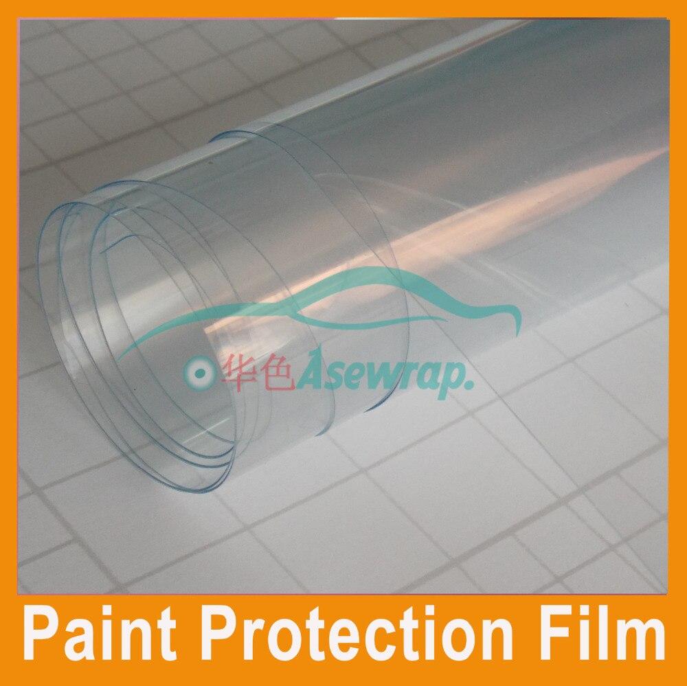Livraison gratuite 1.52x15 m/Roll Haute transparent voiture peinture protection film Vinyle Wrap Voiture Wrap Brillant Wrap Film autocollant de voiture wraps