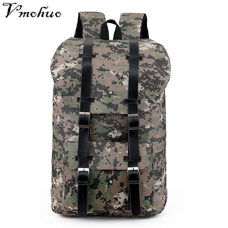 9828edff0e VMOHUO Large Capacity Travel Backpack Vintage Men Canvas Backpacks For Teenager  Boys School Bags Mochilas Fashion Men Backpack