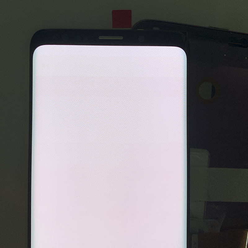 HTB1pzSmOhYaK1RjSZFnq6y80pXa2 SUPER AMOLED has the Burn-Shadow LCD with Frame for SAMSUNG Galaxy S9 G960 S9 Plus G965 Touch Screen Digitizer Assembly