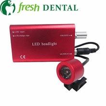 Zahnmedizinischer Scheinwerfer HNO-medizinischer Hilfsilluminator beleuchtet zahnmedizinische Lupenscheinwerfer-Sonderangebot