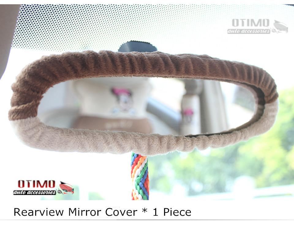 Cute Cartoon Car Steering Wheel Cover Mickey Mouse 0