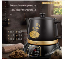 hot deal buy 3l decoction pot automatic decoction pot ceramic casserole separate chinese medicine /porridge/fried/soup/cold tea/baked