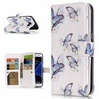 2で1磁気財布レザーケースフォトフレームフリップ電話カバー用三星銀河s3 s4 s5 s6 s7/s6 s7エッジで9カードホルダ