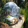 Burbuja Lodge tamaño 5*4*3 M (cerca de 16,5*13*9,8 pies) inflable tienda sellada en contacto con la naturaleza Sol al aire libre