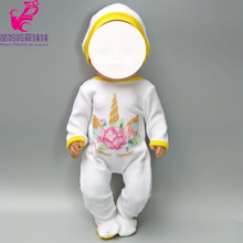Doll clothes for 18 inch doll coat outfit set Fit for 43cm Born Baby Doll jacket dress Wear children gifts(China)
