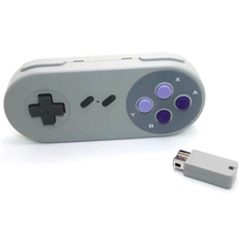 xunbeifang 2pcs Wireless Button Style Controller Gamepad for SNES mini console