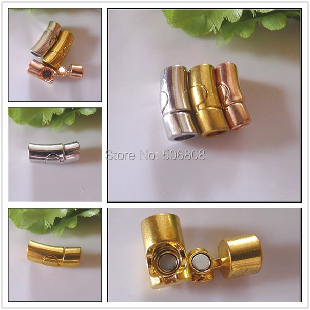 30pcs Antique Silver Gold Rose Gold color Strong Magnetic Clasps