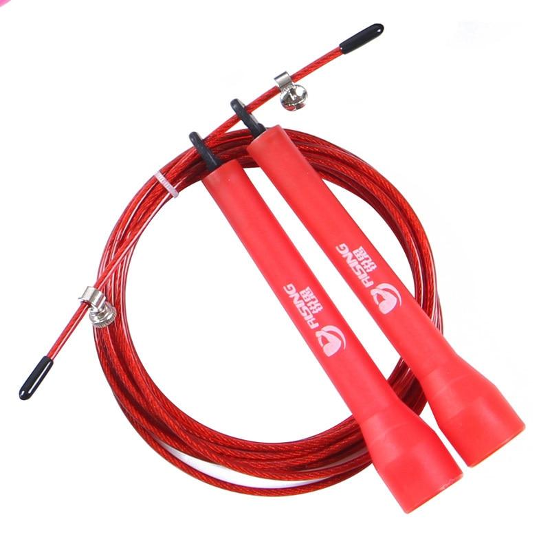 Podesiva brzina čelične žice preskakanje skok konopac križ - Fitness i bodybuilding - Foto 6