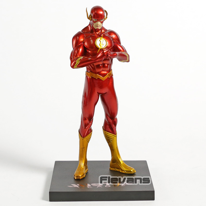 ARTFX+ STATUE New 52 The Flash 1/10 Scale PVC Figure DC Comics Collectible Model Toy image