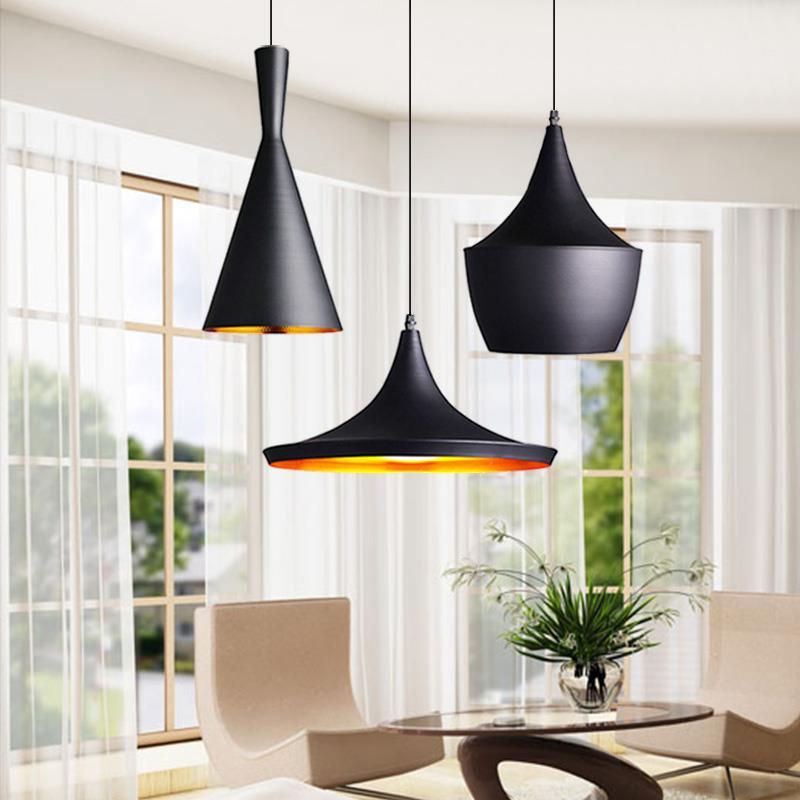 Us 59 85 5 Off 3pcs Set Modern Led Pendant Light Vintage Lamp E27 Base Edison Bulb Home Lighting Fixture Art Deco Designer Re In