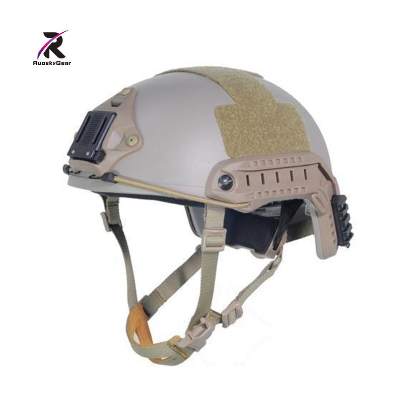 Best Tactical Ballistic Aramid Fiber Version Helmet Airsoft Combat Paintball DE Color for Motorcycle Cycling with Free Shipping dilong p3950 usb 2 0 wired flight joystick for computer ps3 black silver