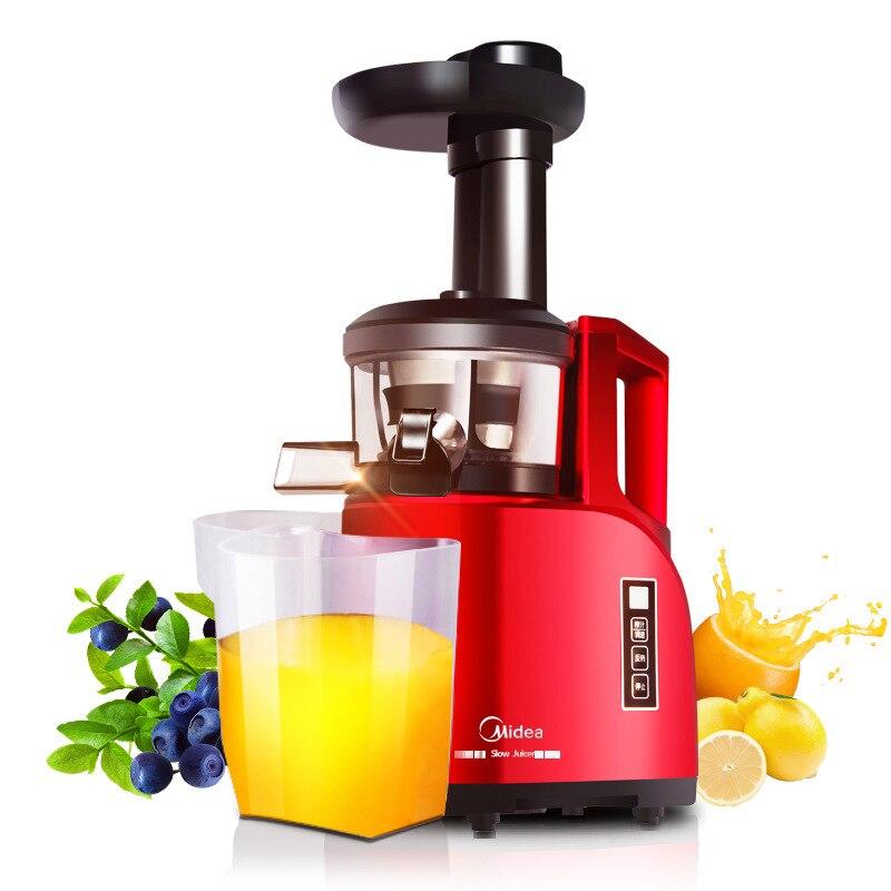 цена на Midea 200W Fruits Vegetables Multi-function Low Speed Slowly Juice Extractor Juicers Fruit Soybean Milk MJ-WJS1241E