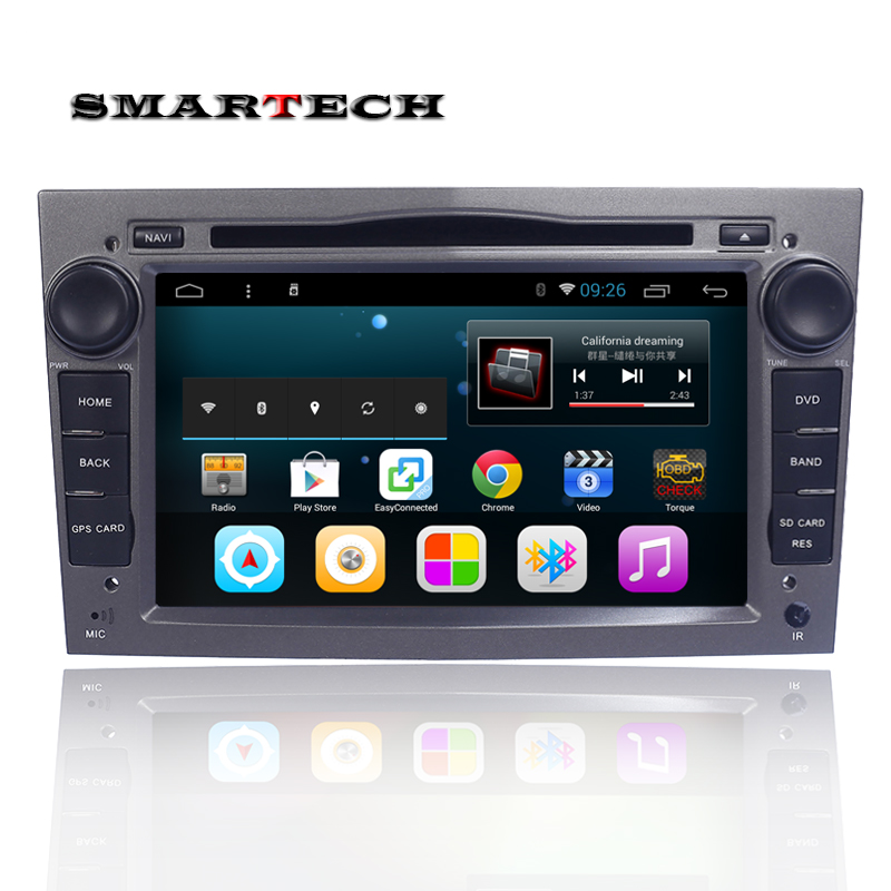 2 Din Android 6 0 For Opel Car DVD Player Astra Vectra Antara Zafira Corsa Quad