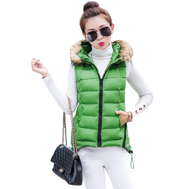 Tengo New Women Cotton Vest Solid Leisure Waistcoat