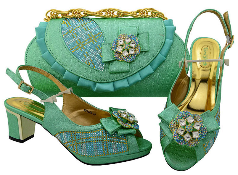 New Fashion Italian Shoes With Matching Bags African Women Shoes and Bags Set For Prom Party   MM1049 2016 spring and summer free shipping red new fashion design shoes african women print rt 3