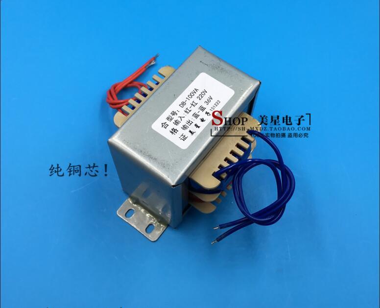 все цены на 36V 2.78A Transformer 100VA 220V input EI86 Transformer power supply transformer isolation онлайн