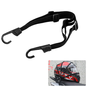 2 Hooks Luggage Elastic Rope Strap For Yamaha YFZ R1 R6 R6S Honda CBR Kawasaki Ninja Harley Touring Road King For Kawasaki ER6N(China)