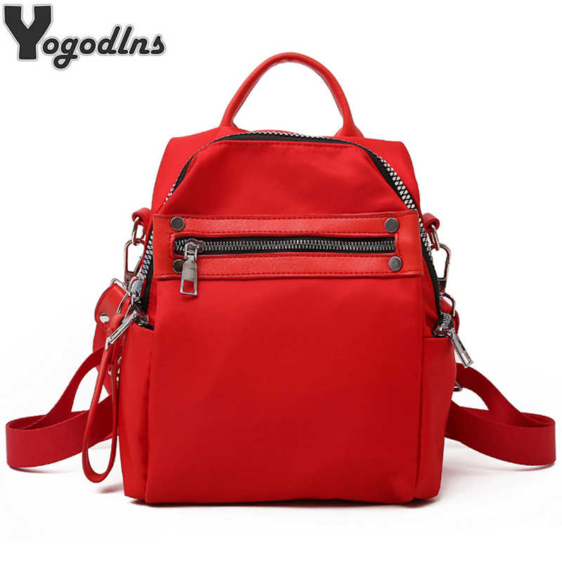 Large Capacity Backpack Women School Bags For Teenagers Nylon Travel Bags Girls knapsack casual rucksack for ladies shoulder bag