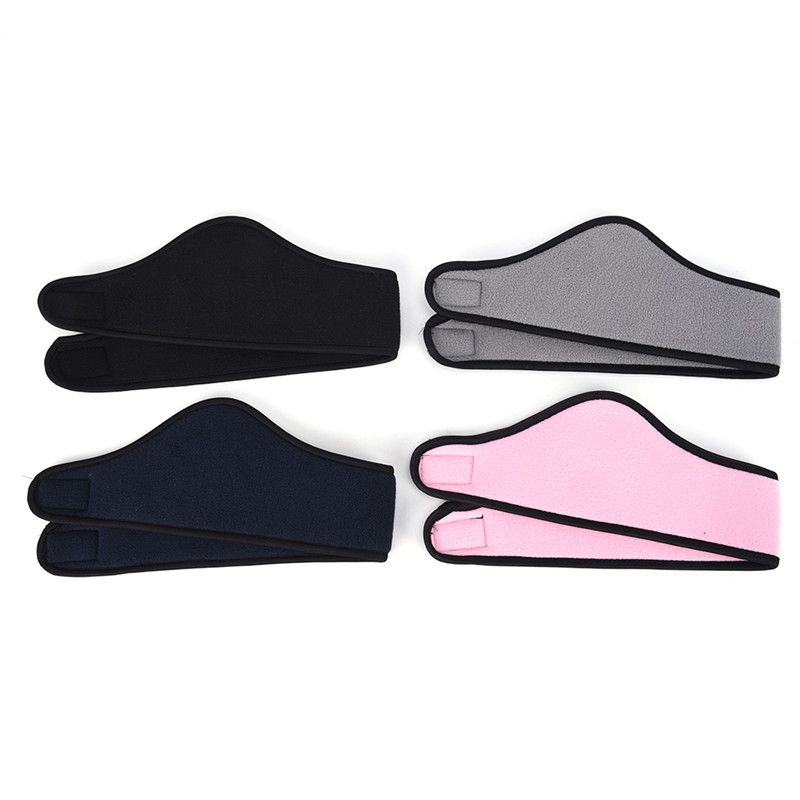 1 Pcs Unisex Headwear Women Men Ear Warmer Winer Head Bands Polar Fleece Ski Ear Muff Stretch Spandex Headband Hair Accessories