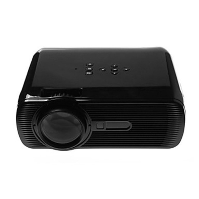 Best Offers Mini LED Projector HD 1080P 1500 LM Home Theater Video Projector Home Multimedia Cinema TV Laptops Smartphones BL-80  Black