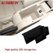 Автомобильные аксессуары центральной вторичный коробка для хранения паллет подлокотник Box Контейнер для Skoda Superb B6 B8 2009 2010 2012 2014 2015 2016