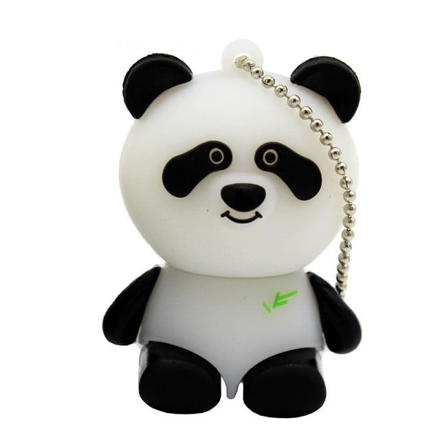 Mini lovely Panda pen drive special gift cartoon USB Flash Drives