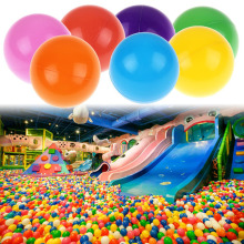 50pcs/lot Eco-Friendly Colorful Soft Plastic Pool Ocean Ball Baby Funny Toys Outdoor Fun Sports Play Pit Balls