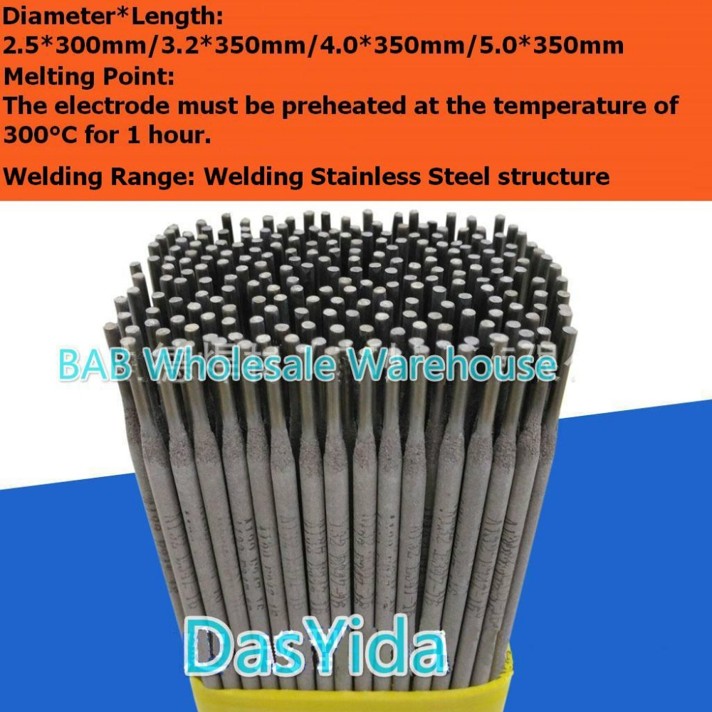 15 Pcs Stainless Steel Electrode Welding Electrodes Rods Sticks A102 2.5mm 3.2mm 4.0 Mm For Welding Stainless Steel Structure