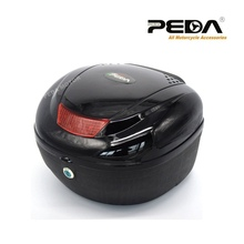 2016 New Fashion Electric Scooter Trunk Top Case One Helmet Hard Tail Box Luggage Motorcycle Motorbike Box